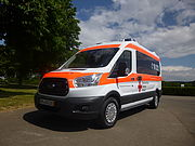 ON SALE:<br>Miesen Ambulance on Ford Transit
